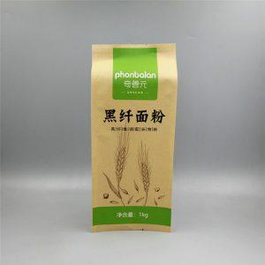 1kg面粉牛皮纸包装袋