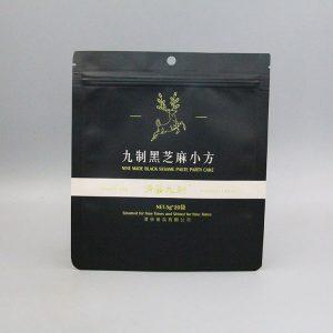牛皮纸黑色印刷包装袋