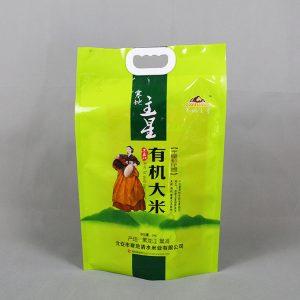 5kg有机大米真空袋