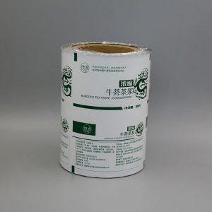 牛蒡茶浆自动包装卷膜