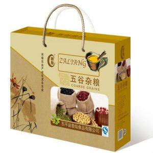 五谷杂粮手提盒设计