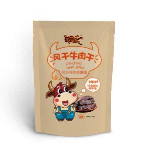 牛肉干包装袋设计案例