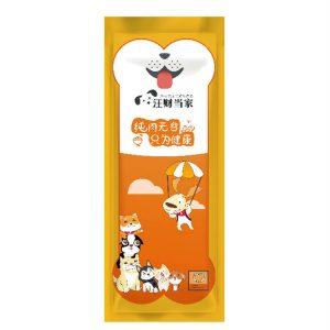 宠物零食包装袋设计案例