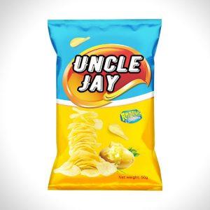 薯片包装袋设计案例