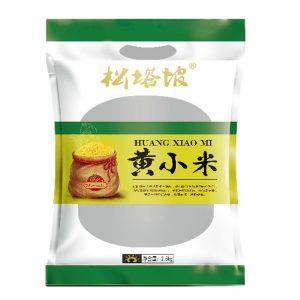 黄小米包装袋设计案例